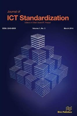 [(Journal of Ict Standardization 1-3)] [Edited by Anand R Prasad] published on (March, 2014)