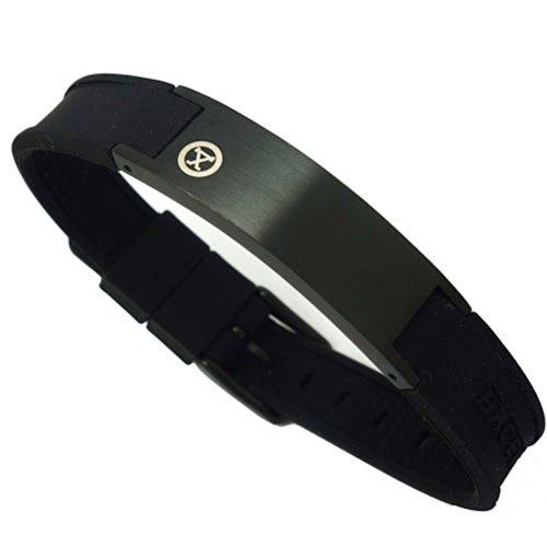 ProExl Magnetisches Golfarmband mit Schachtel, schwarz