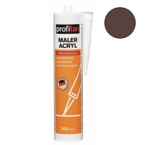 roller-maler-acryl-profitan-braun-300-ml