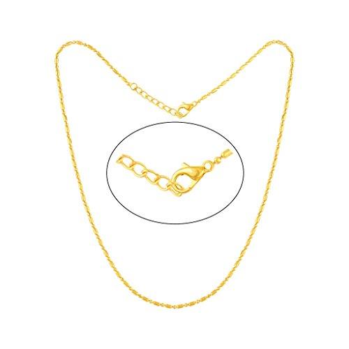 VShine Gold Plated Fancy Pink Stone Pendant for Girls & Women made with SWAROVSKI ZIRCONIA – VSPG1030