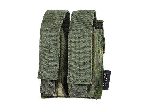 BE-X Magazintasche, MOLLE für 2 Pistolenmagazine oder Tools/Messer - multicam tropic
