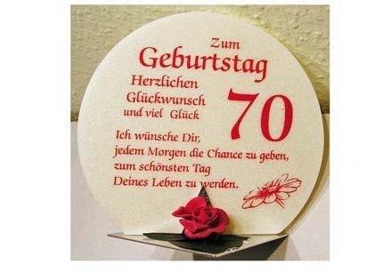 Geschenk Kerze zum 70. Geburtstag Artikel SD167121.70 (Zum 70. Artikel Geburtstag 70)