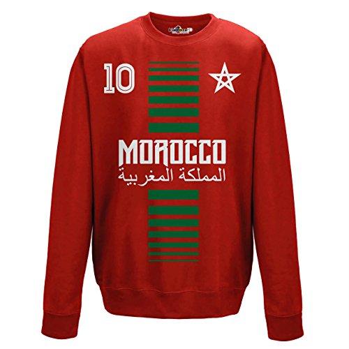 crewneck Pullover Sweatshirt manner National Sport Marocco Marokko 10 fussball Sport Afrika Stella 1 S (Rugby-bier Guinness)