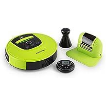 Klarstein Cleanhero • Robot Aspirador • Automático • Robot de Limpieza • Autonomía de 2h • Control Remoto • 3 Modos • 2 velocidades • Regreso a la Base de ...