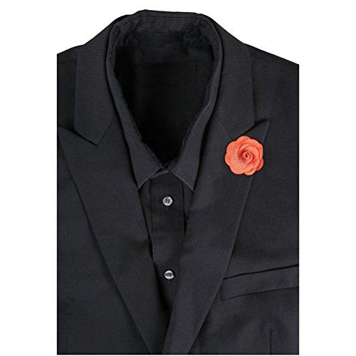 leorx-camelie-boutonniere-lapel-pin-spilla-da-uomo-per-cravatta-colore-arancione