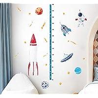ttymei Space Rocket Height Sticker Children