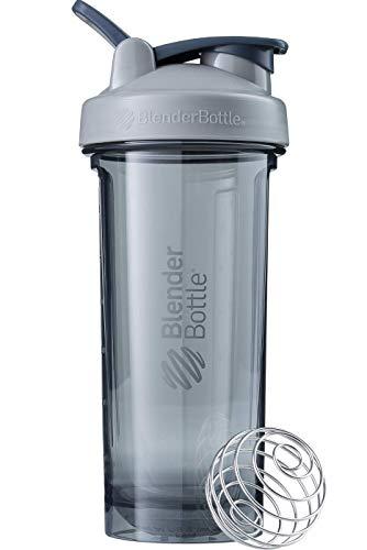 BlenderBottle Pro28 Tritan Protein Shaker/Wasserflasche/Sportflasche/Diät Shaker/820ml - Pebble