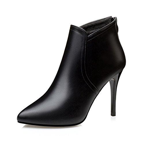 FLYRCX L'automne et l'hiver la mode chaud dames bottes chaussures antidérapantes,40,UN