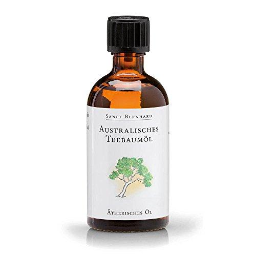 Sanct Bernhard Australisches Teebaumöl, 100% reines ätherisches Öl 100 ml
