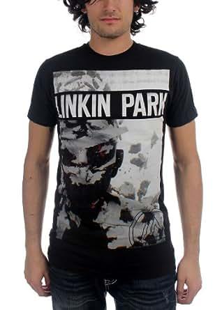 Linkin Park - - Männer Living Things Cover T-Shirt in Schwarz, XX-Large, Black