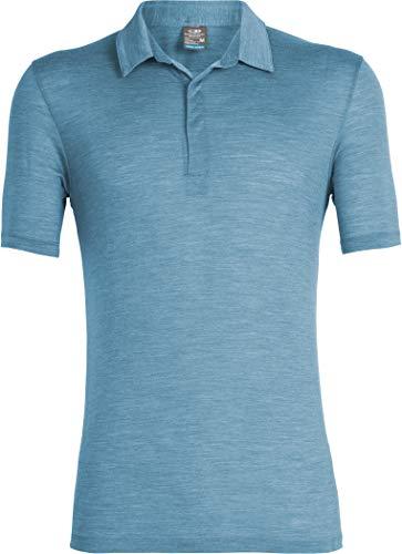 Icebreaker 130 Solace Polo Shirt Men - Freizeitshirt mit Merinowolle