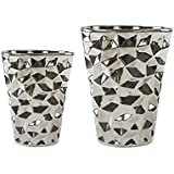 Wohnaccessoires silber  Suchergebnis auf Amazon.de für: silber - Vasen / Wohnaccessoires ...