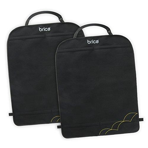 Brica Deluxe Kick Mats Auto-Rückenlehnenschutz, 2er Pack