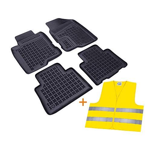 RAU Passform Fussmatten Gummimatten Schalenmatten + Warnweste/Fahrzeug Siehe Text