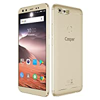 Casper Via F2 Akıllı Telefon, 64 GB, Altın (Casper Türkiye Garantili)