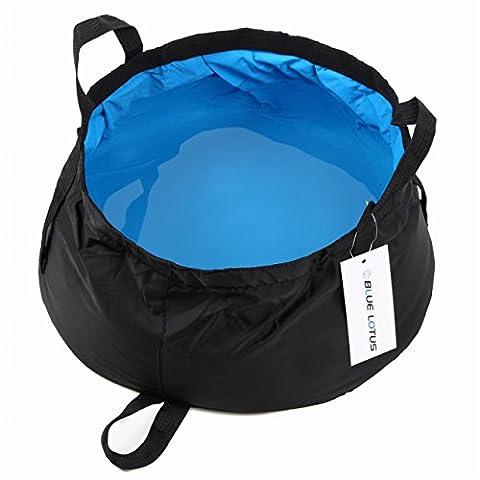 Bluelotus ultraléger Portable Pliable Seau 8.5l