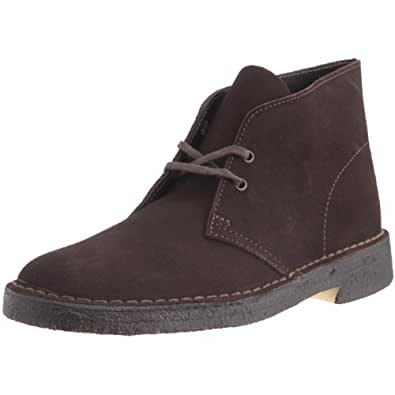 Clarks Originals 11176 Scarpe stringate Desert Boot, Uomo, Marrone (Brown Suede), 39.5