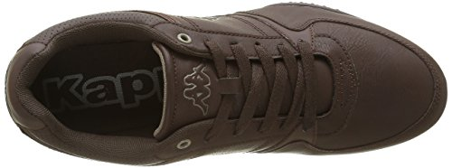 Kappa manille, Baskets Basses Homme Marron (Dk Brown/Desert Taupe)