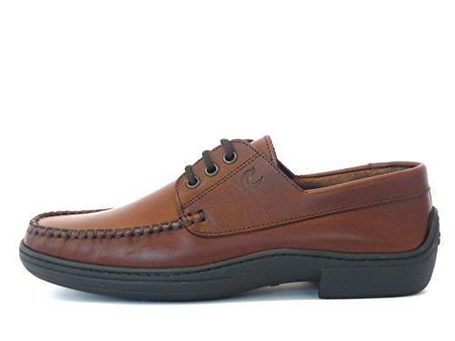 VALLEVERDE , Chaussures de ville à lacets pour homme Marron Marrone Marron - Marrone