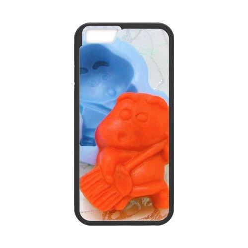 Crayon Shin Chan coque iPhone 6 Plus 5.5 Inch Housse téléphone Noir de couverture de cas coque EBDXJKNBO16708