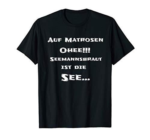 Auf Matrosen Ohee Tshirt   lustiges Kapitän shirt