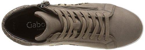Gabor 36-426-39, Sneaker Donna Marrone (Marron (Fango Kombi))