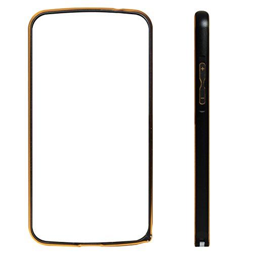 DMG Luxurious Aluminium Metal Bumper Case For Samsung Galaxy Grand 2 G7106 (Black)
