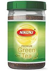 Nikunj Premium Green Tea Jar, 300 g with Super Saver Pack