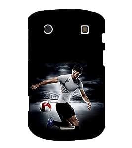 printtech Football Player Back Case Cover for BlackBerry Bold Touch 9900 :: BlackBerry Dakota :: BlackBerry Magnum