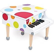 Janod J07627 - Piano a Coda Confetti