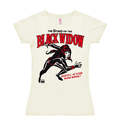 Logoshirt Marvel Comics - Superheldin - Black Widow -