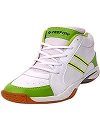 ZEEFOX 0090F Men's PU Basketball Shoes Green