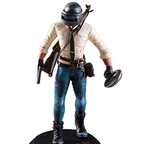Ocamo Maqueta,Figura de Acción de Juego de Playerunknown's Battlegrounds PUBG,de material PVC,17cm Hombre y 18cm Mujer