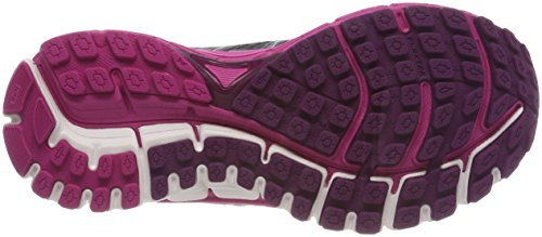 Brooks Damen Defyance 10 Laufschuhe, Ebony/Pink/Plum Mehrfarbig (Ebonypinkplum)
