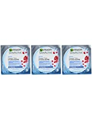 Garnier - SkinActive - Hydrabomb Masque Tissu à la Grenade Hydratant/Repulpant Peaux Déshydratées - Lot de 4