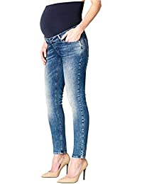 Esprit Maternity Pants Denim Otb Slim, Jeans-Maternité Femme