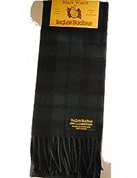 100% lambswool Made in Écharpe Ecosse Black Watch Tartan 55 pouces de long
