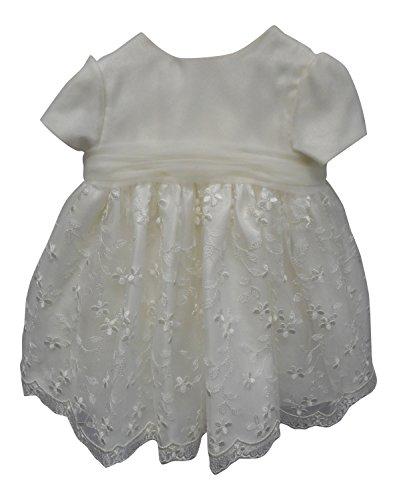 d282733faec70 Sarah Louise - Robe de baptême - Bébé (fille) 0 à 24 mois ivoire