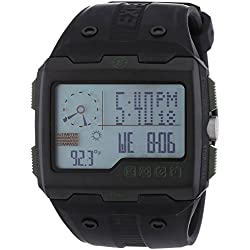 Timex Expedition Wide Screen Expedition Watch - Black Rubber Strap T49664