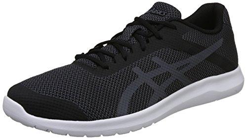 ASICS Men's Carbon/Black Running Shoes-10 UK/India (45 EU)(11 US) (T7H3N.9797)