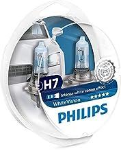 Philips 12972WHVSM WhiteVision Effetto xenon, H7 Lampada Fari, Confezione Doppia