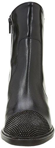Donna Piu 9646 Brigida, Bottes Classiques Femme Noir (Tequila Nero)