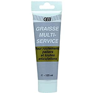 GEB GRAISSE MULTISERVICE TUBE BLISTER125ML