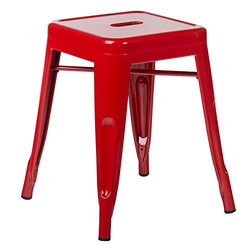 SKLUM Taburete LIX Rojo - (Elige Color)