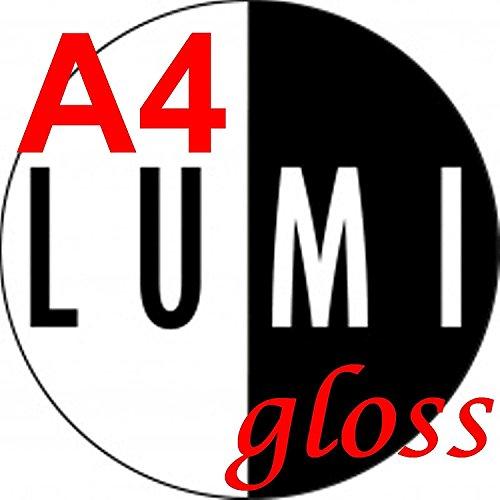 A4(210x 297mm) 150gsm x 1000Blatt Laser Gloss 2-seitige Drucker Papier–Laser–Digital–Craft