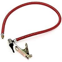 Air Pumpe Tube, Fahrrad Bike Tragbarer Mini Hand Luftpumpe Tube Schlauch Ersatz 60cm Länge Rot Farbe