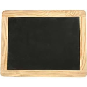 Creativ lavagnetta con bordo in legno 19 x 24 cm - Lavagnette per cucina ...