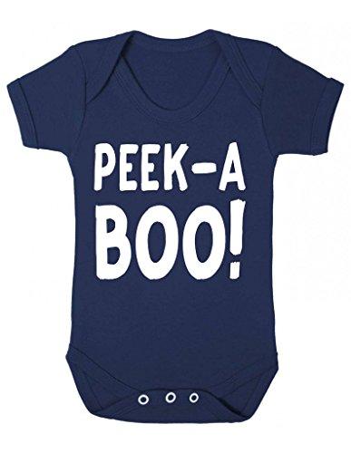 Peek a boo Bold testo Halloween dichiarazione Halloween Completino