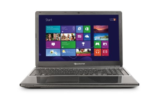 Packard Bell EasyNote TE 15.6 inch Notebook (Black) - (AMD A4-5000 1.5GHz Processor, 4GB RAM, 750GB HDD, DVDSM DL, LAN, WLAN, BT, Webcam, Windows 8)