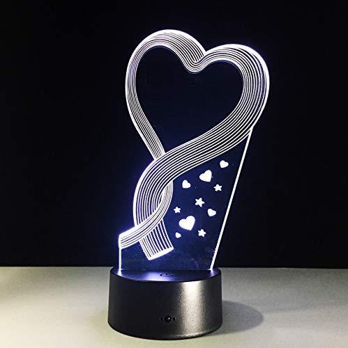 camel 3d lampe visuelle led nachtlicht leuchte mit fernbedienung touch decor lampada als baby kid schlafstimmung lampe ()